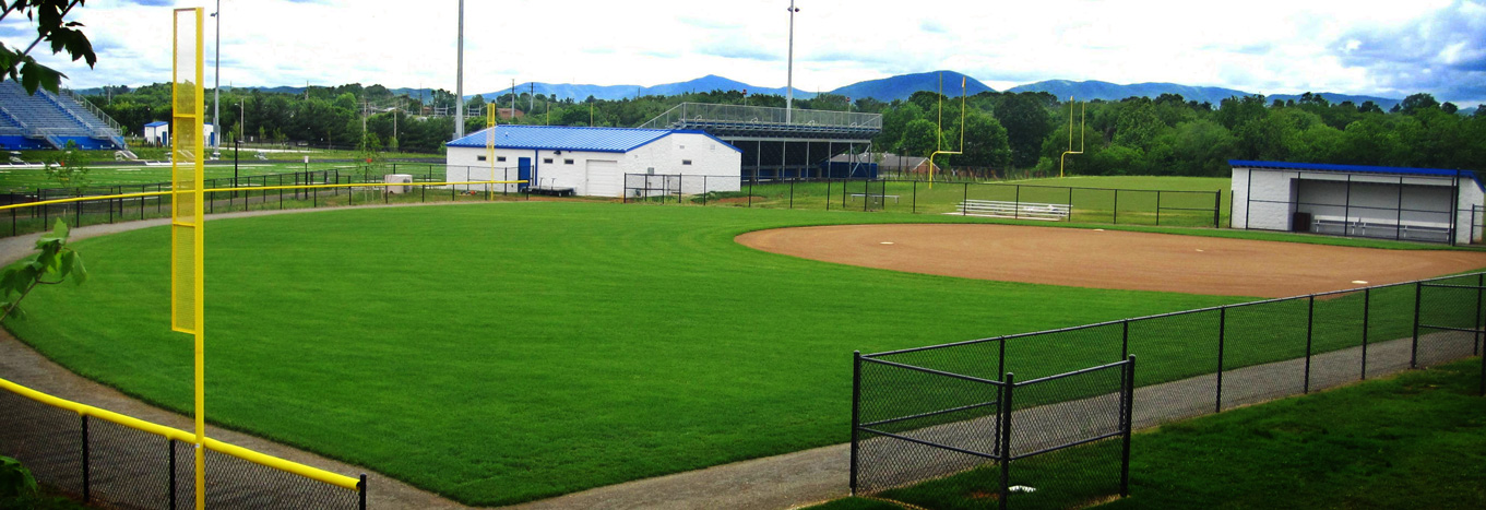 athletic field maintenence mowing RSG BaseballField