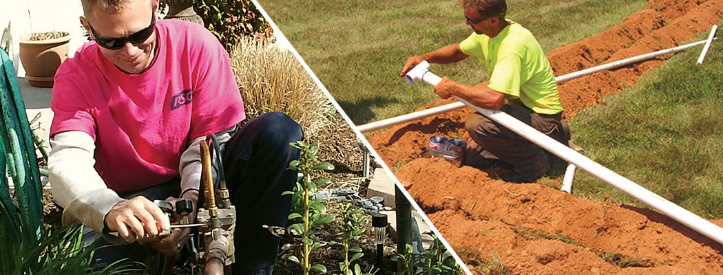 RSG installing sprinkler irrigation systems in Virginia and West Virginia